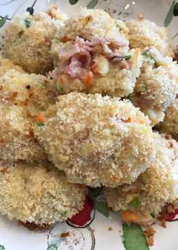 Oven-Baked Potato balls