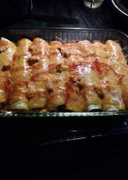 Crock pot Chicken enchiladas