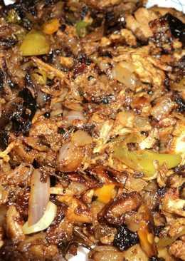 Nadan idicha kozh/ Crushed chicken