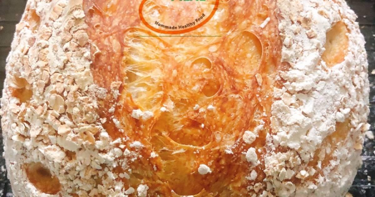 Basic Sourdough Bread Recipe by Linda Hiền Hoà