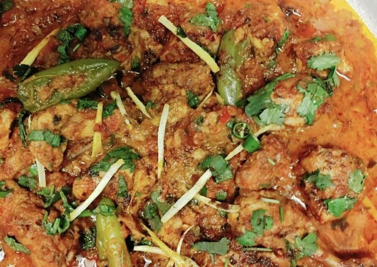 Tasty chicken karahi#eid kay pakwan Recipe by Mamma Pk