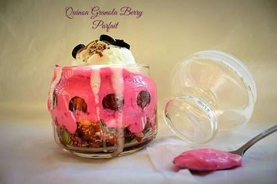 Quinoa Granola Berry Parfait