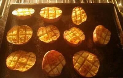 Criss Cross Potatoes
