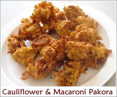 Cauliflower & Macaroni Pakora