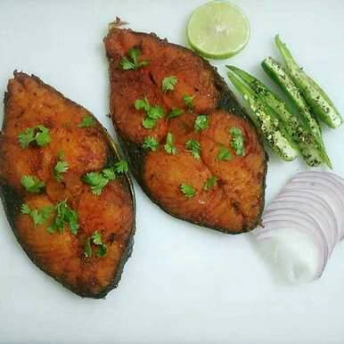 Deep Fried Vanjaram Fish