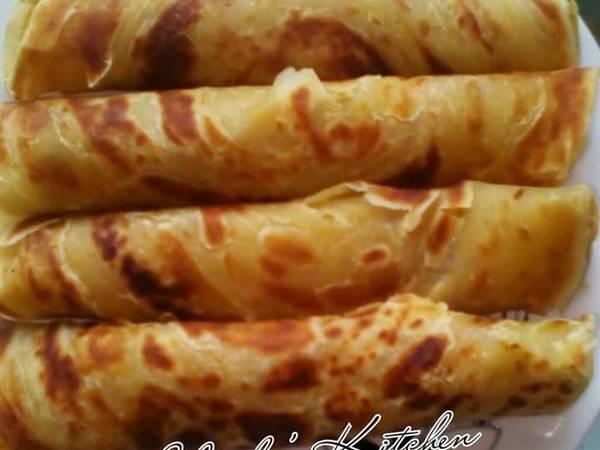 Soft layered chapatis