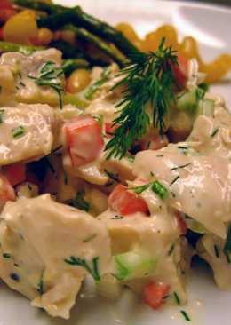 Lemon Dill Chicken Salad