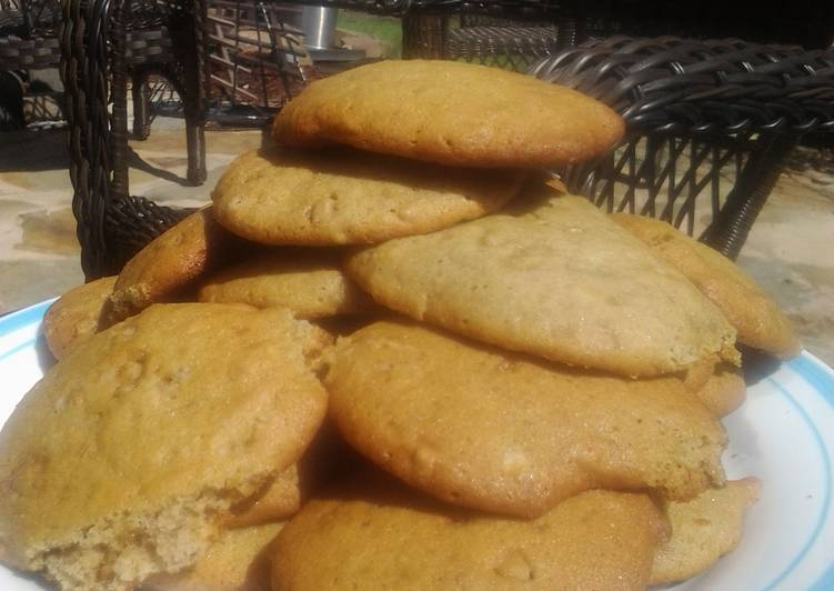 Banoffee Spice Cookies