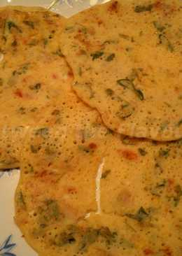 Healthy Egg Dosa
