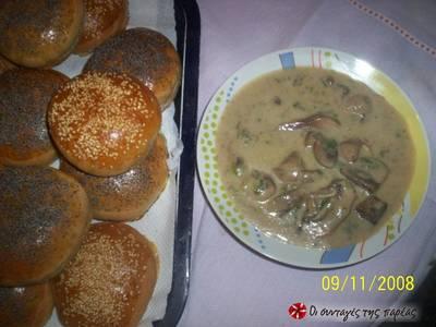 Mushroom soup easy and tasty
