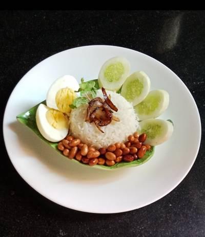 Nasi Lemak /Malaysian Rice