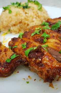 resep masakan gai yang thai grilled chicken