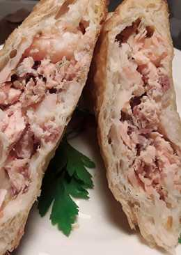 Sig's Salmon and Prawn Pasties