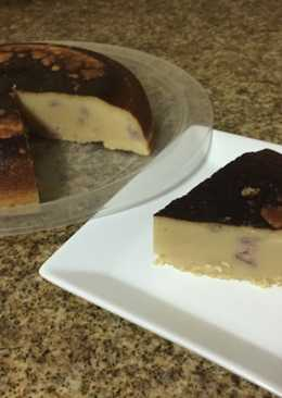 Yoghurt Cheese Cake, made with rice cooker