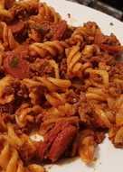 Mince Beef & Chorizo Pasta 🥗