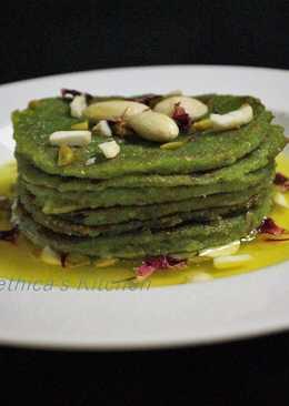 Spinach Malpua