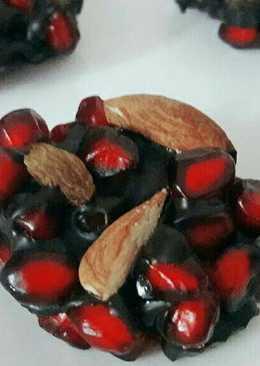 Pomegranate Chocolate Bites