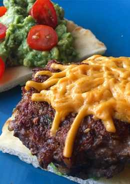 Vegan Mushroom Barley Burger