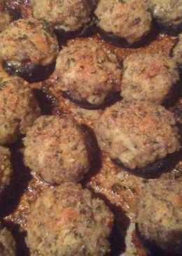 Garlic and Herb Stuffed Portabella Mushrooms