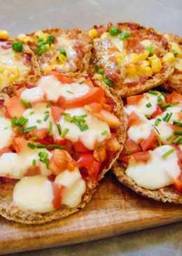 Parma Ham & Mozzarella Pitta Pizza's