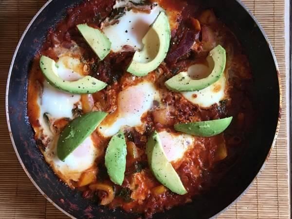 Huevos Rancheros (Spicy Mexican breakfast / brunch)