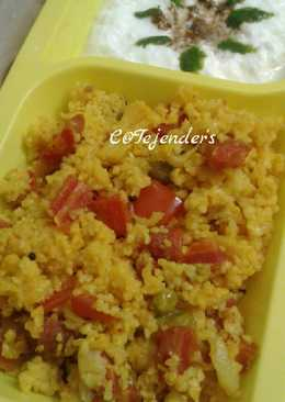 BLISSFUL MIXED KHICHDI(with Italian flavours)