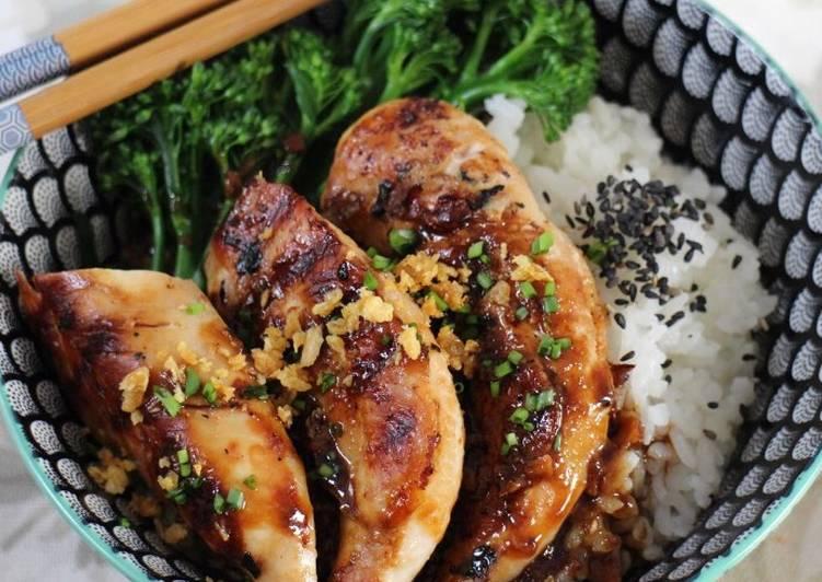 Chicken teriyaki #familyfriendly