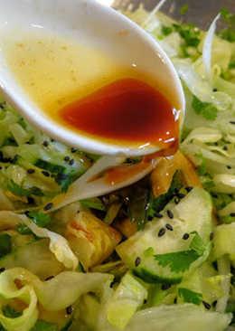 Soy Sesame Tabasco Salad Dressing