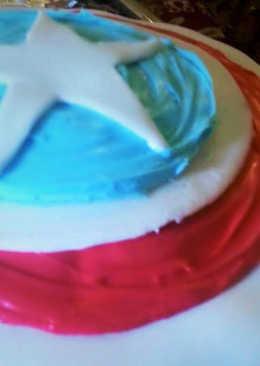 resep masakan captain america cake