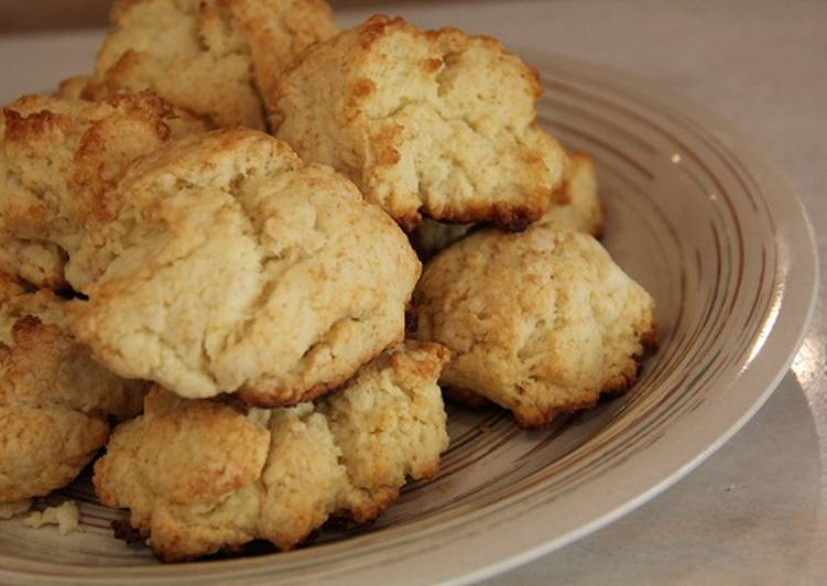 Southern Style Drop Biscuits