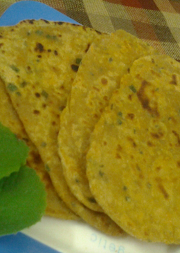 Carrot and Carrom Paratha