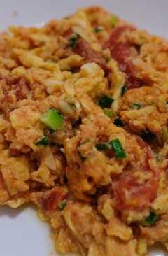 resep masakan chinese tomato scrambled egg
