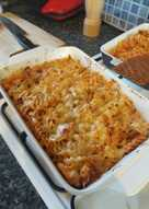 Chicken & Tomato Pasta Bake