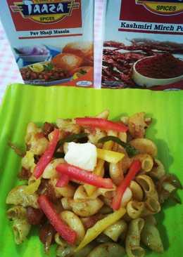 Pav Bhaji flavour macaroni