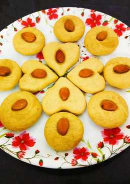 Whole Wheat Flour Jaggery Cookies Without Oven