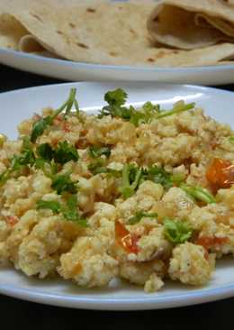 Cottage cheese scrambled (Paneer Burji)