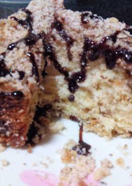 Cinnamon Coffee Apple Crumb Moist Cake