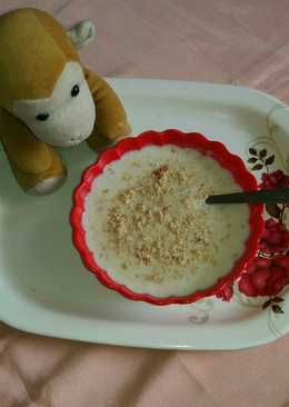 Milk and oats porridge
