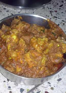 Chicken kasha