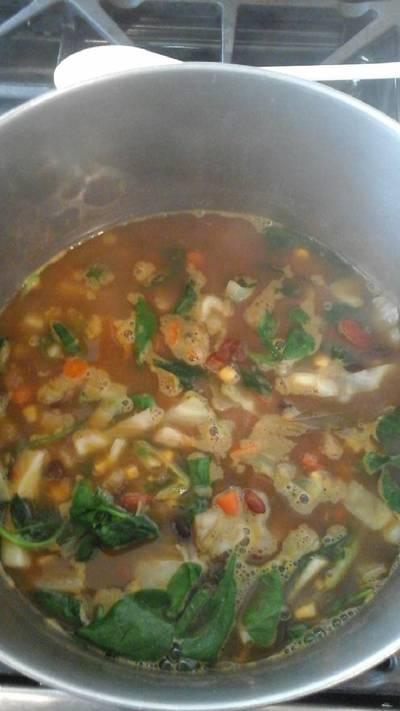 Easy & Hearty Vegetable Stew (vegan)