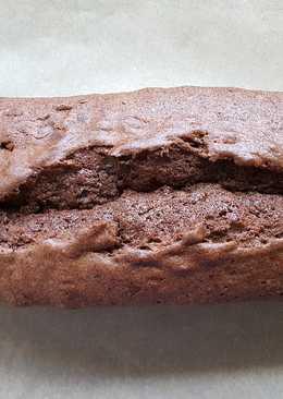 Red wine cake loaf