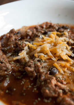 Taco Soup with Pizza Sauce