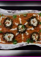 Shaam savera - Paneer stuffed Spinach koftas