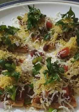 Chatpata Mexican Kacchi keri Pizza Chat