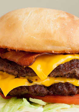 SuperSONIC Bacon Double Cheeseburger