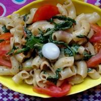 Tomato Spinach Pasta