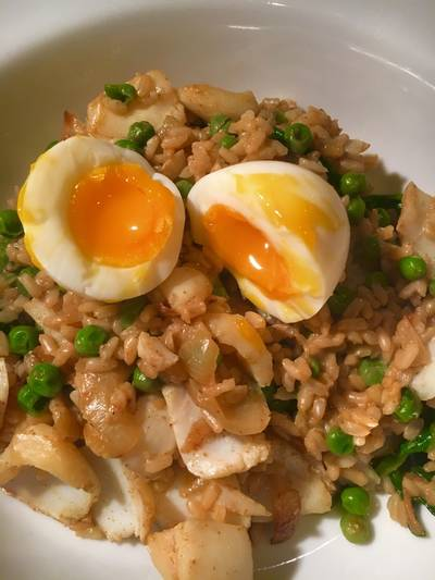 Kedgeree- simple and quick