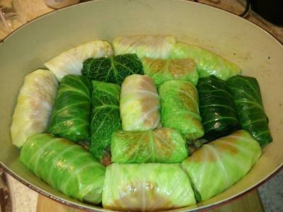 "Cabbage rolls ""GALUMPKIS"""