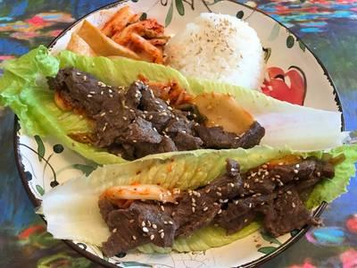 Oven-Baked Korean Beef BBQ