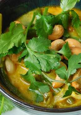 Thai green bean curry